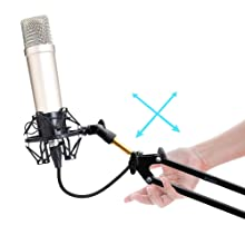 Quickly Position your Microphone Where You Want