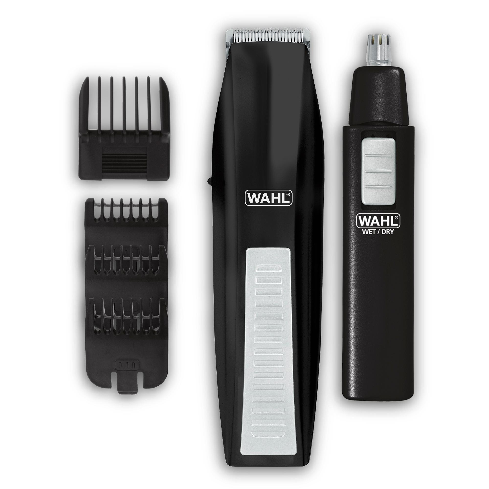 wahl mustache beard trimmer shaver set clipper hair cut groomer ear nose brow b ebay. Black Bedroom Furniture Sets. Home Design Ideas