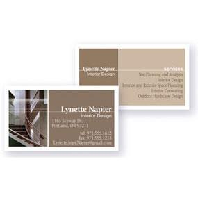 Amazon avery clean edge business cards 2 inches x 3 12 view larger colourmoves