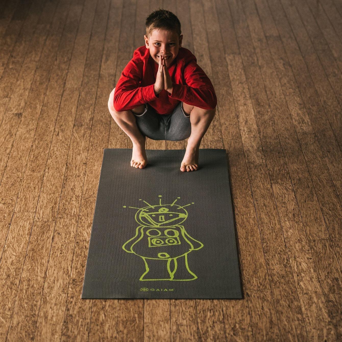 Amazon.com : Gaiam Kids 05-62134 Yoga Mat, Birdsong, 3mm
