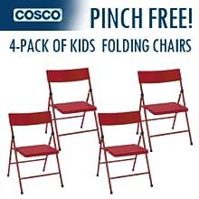 Amazon Com Cosco 14301red4e Kid S Pinch Free Folding
