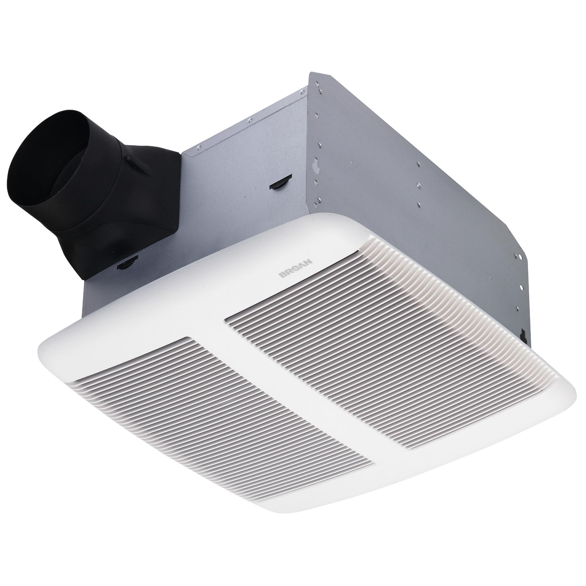 Bathroom Exhaust Fans : Broan qtre ultra silent bath fan sones cfm