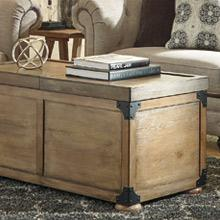 Ashley Furniture Signature Design Vintage Casual Coffee Table Cocktail Height