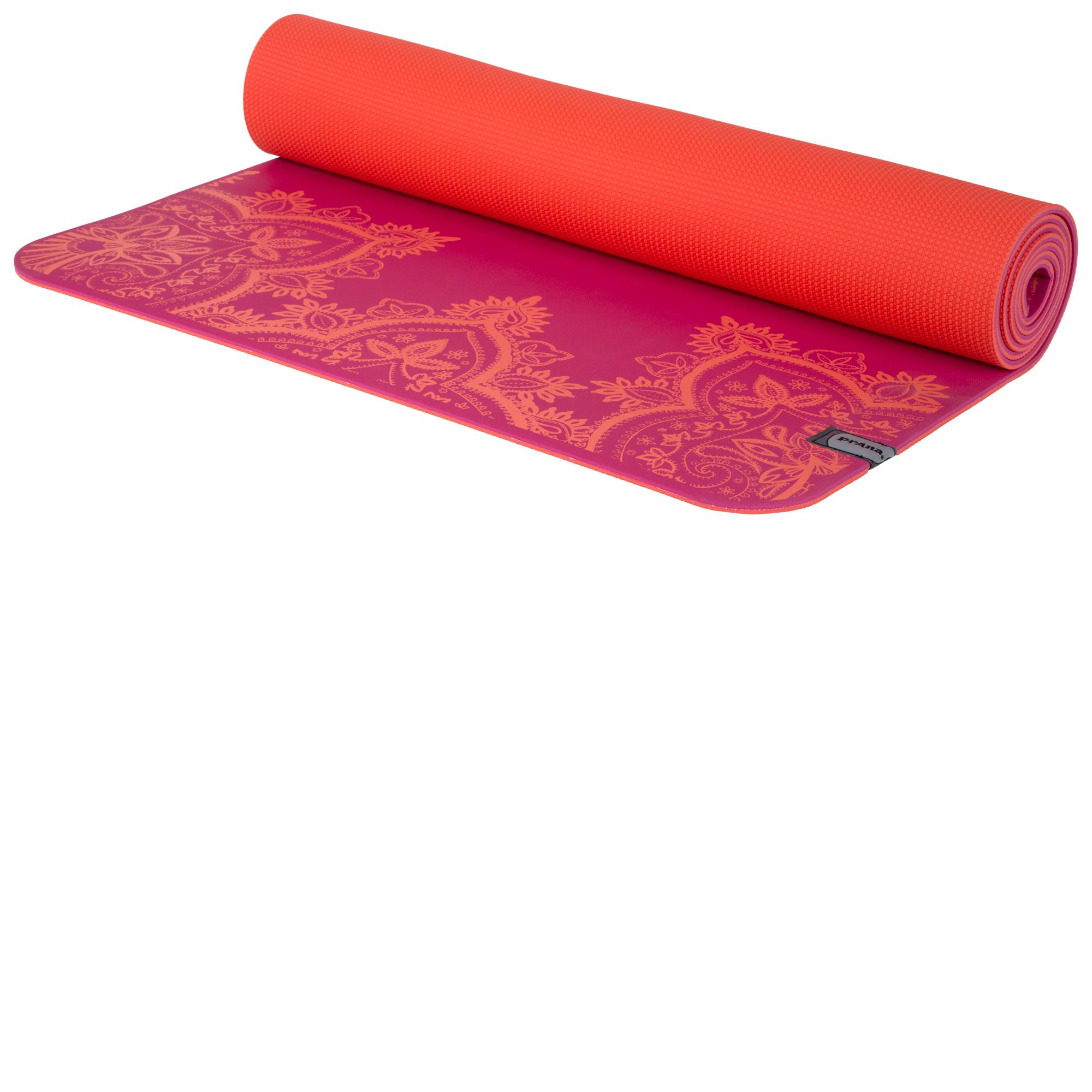 Amazon.com : prAna E.C.O. Yoga Mat, Black, One Size