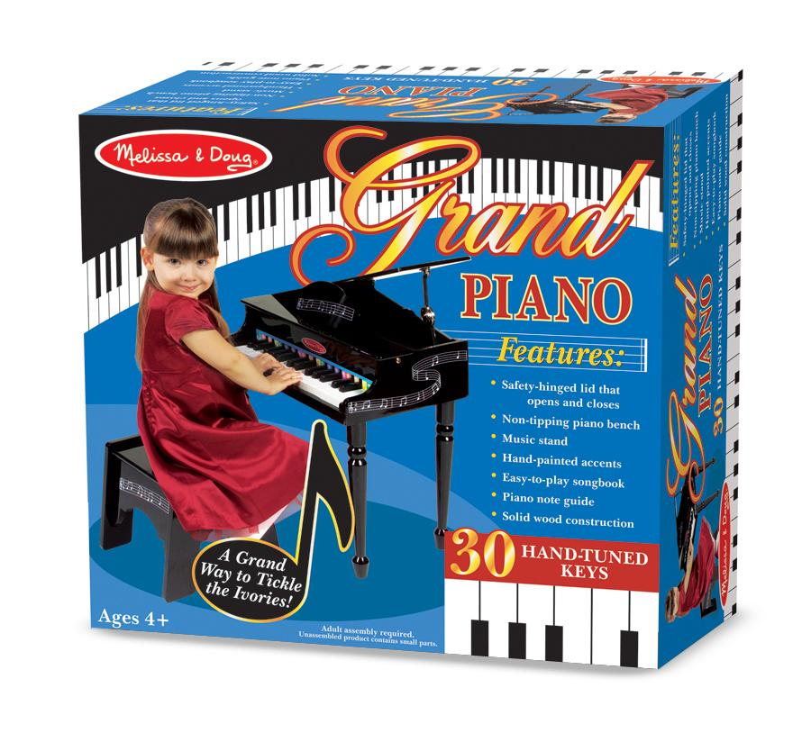 Melissa & Doug® Learn-to-Play Piano - mileageplusawards.com