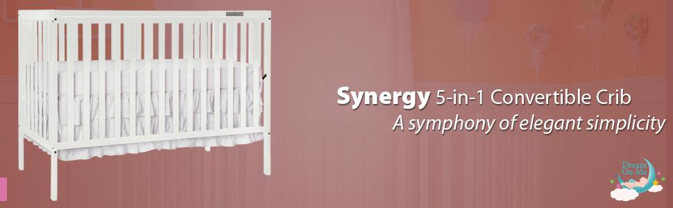 Synergy, Dream On Me, Nursery Furniture, Baby Furniture, DOM Family, Crib
