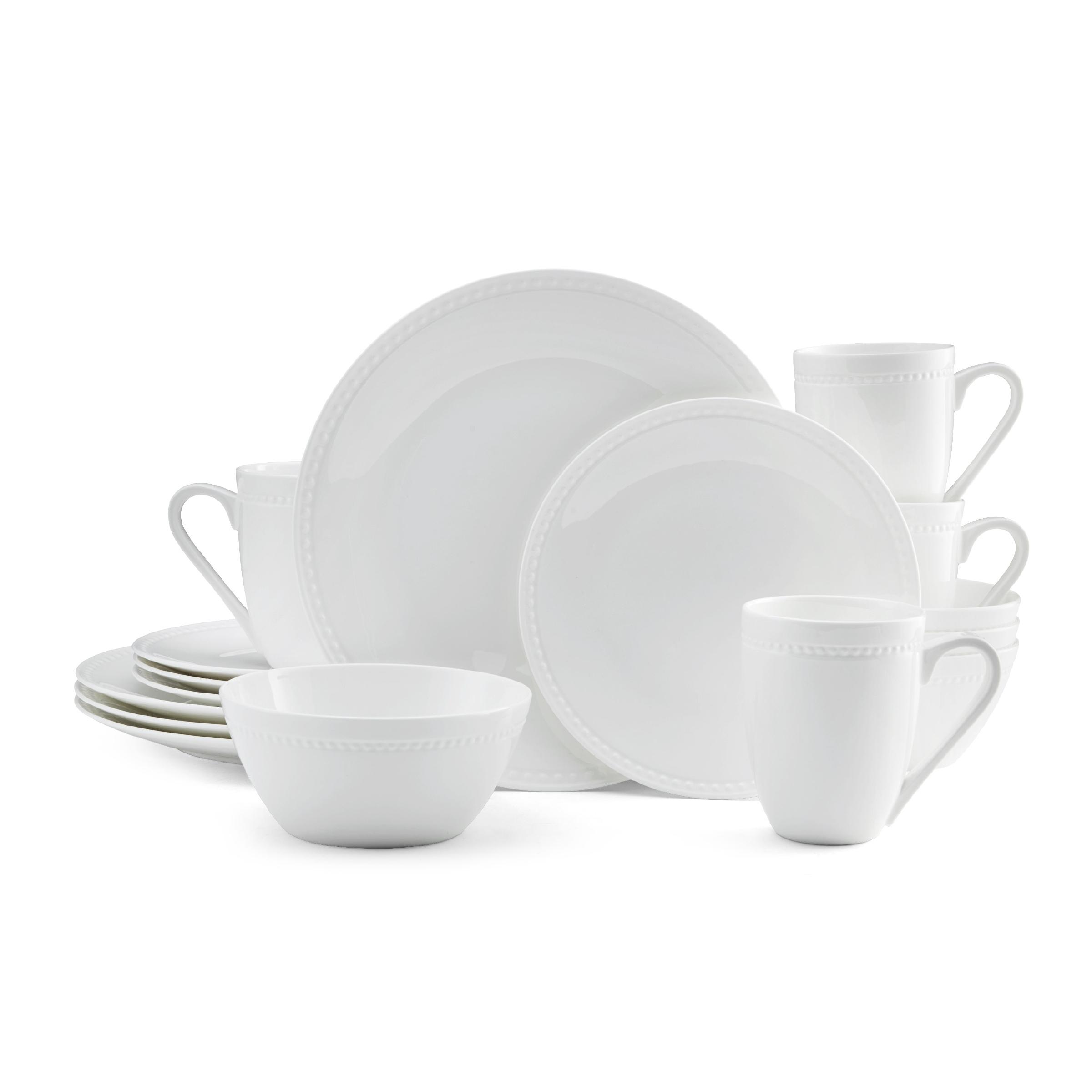 ... fancy plates fine china sets · View larger  sc 1 st  Amazon.com & Amazon.com: Mikasa Delray 16-Piece Bone China Dinnerware Set ...
