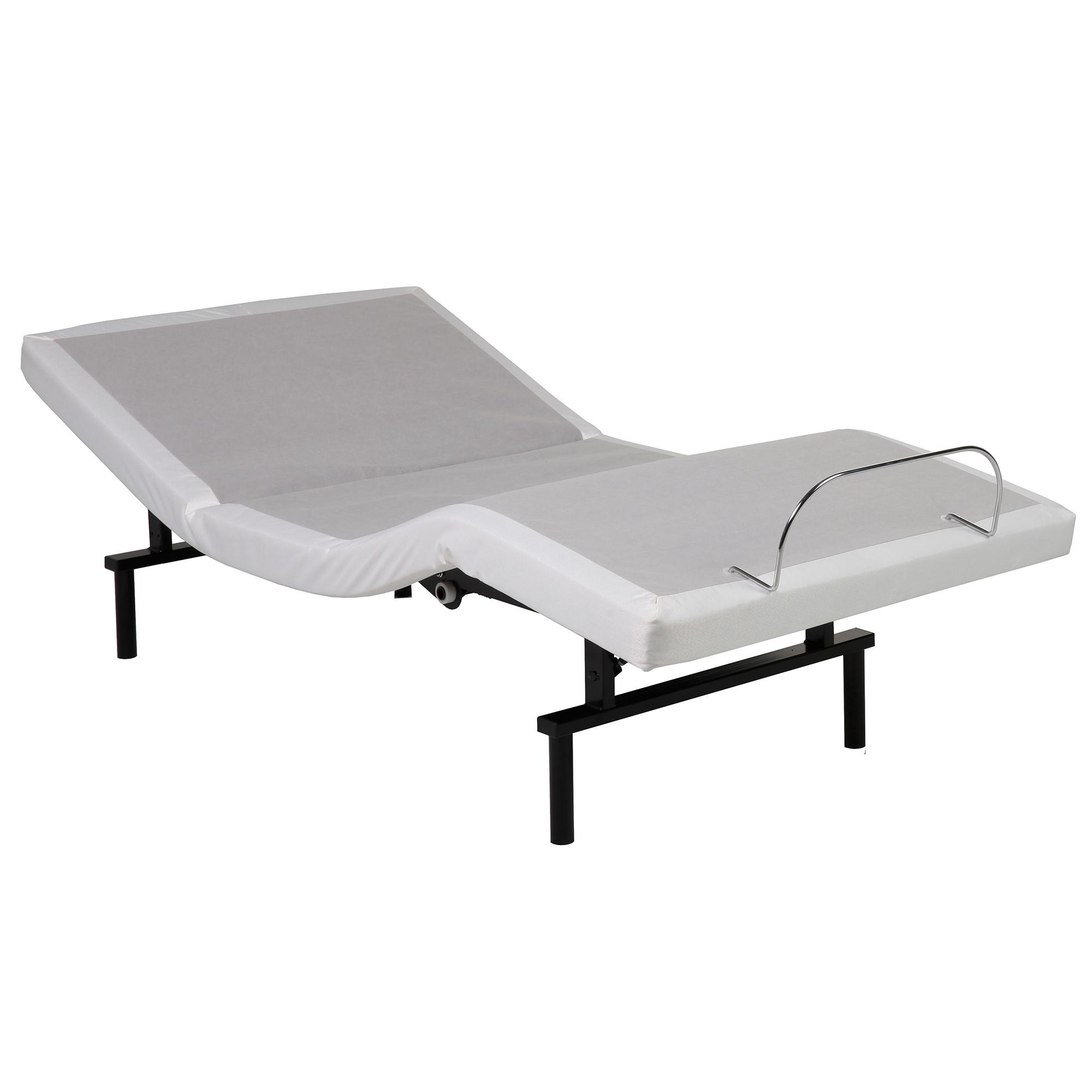 Adjustable Beds That Raise And Lower : Vibrance adjustable bed base with head and
