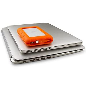 LaCie Rugged Thunderbolt External Hard Drive (USB 3.0)