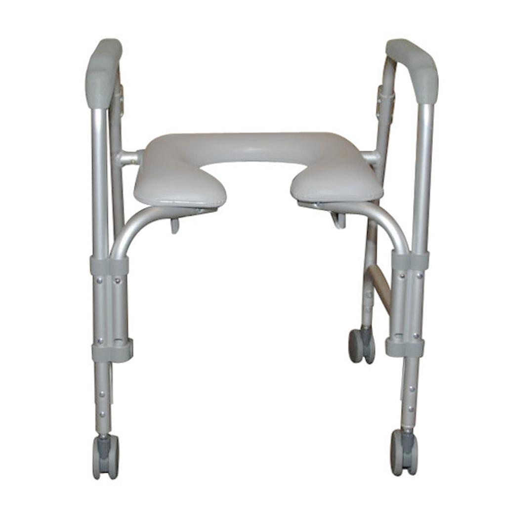 shower wheels seat flat hard pad medical info board product with healthline chair