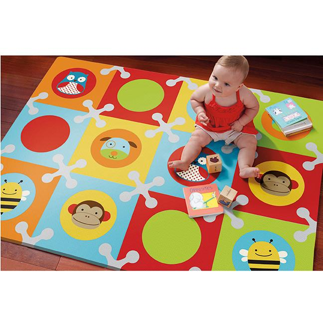 Amazon Com Skip Hop Baby Infant And Toddler Zoo Playmat
