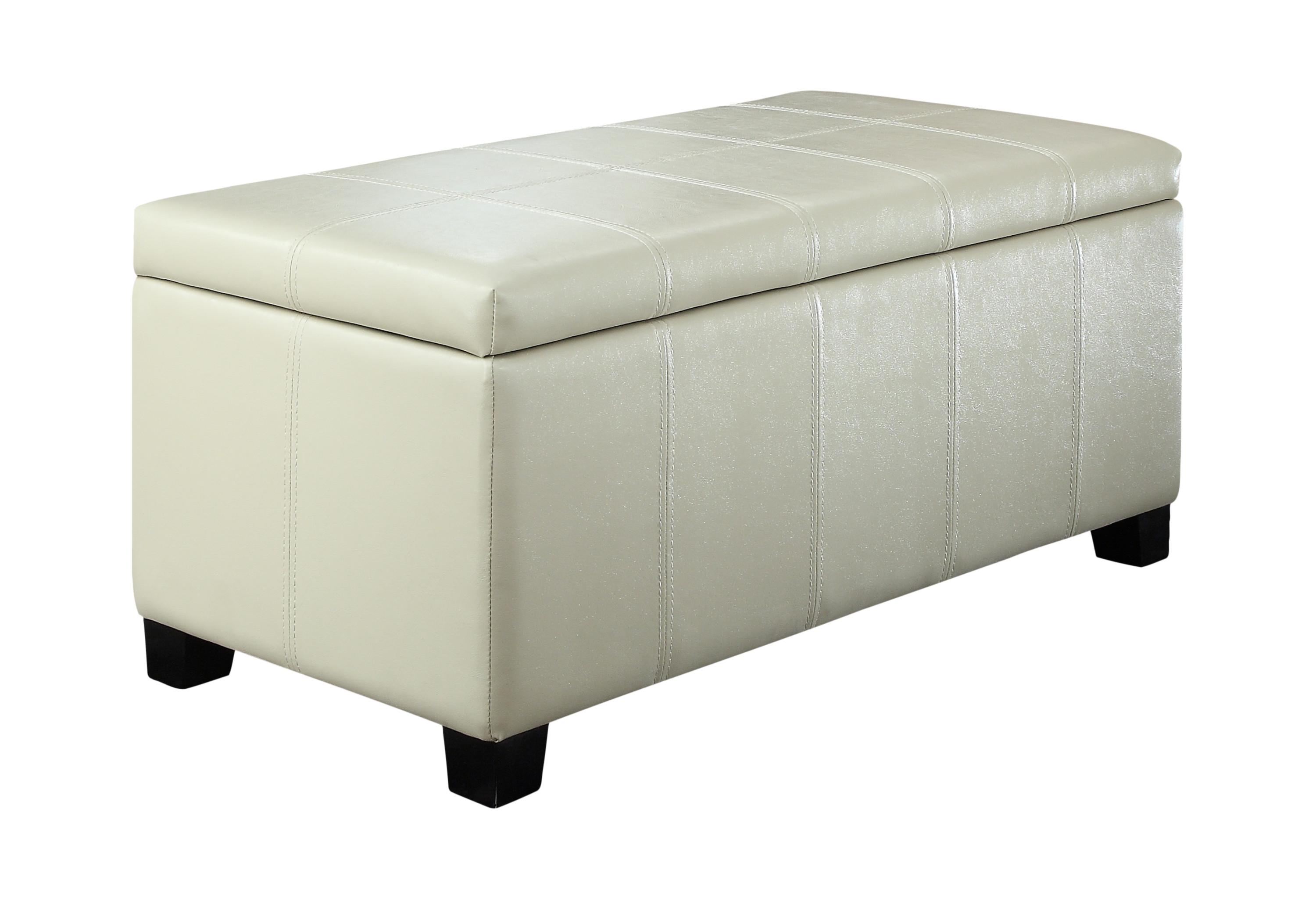 Amazon Com Simpli Home Dover Rectangular Storage Ottoman