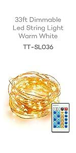 rope light, led strip light, 44key remote, string light