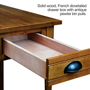 Amazon Com Leick Bin Pull Chair Side End Table Candle