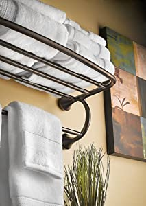 Moen Yb2894orb Eva Bathroom Hotel Towel Shelf Oil Rubbed