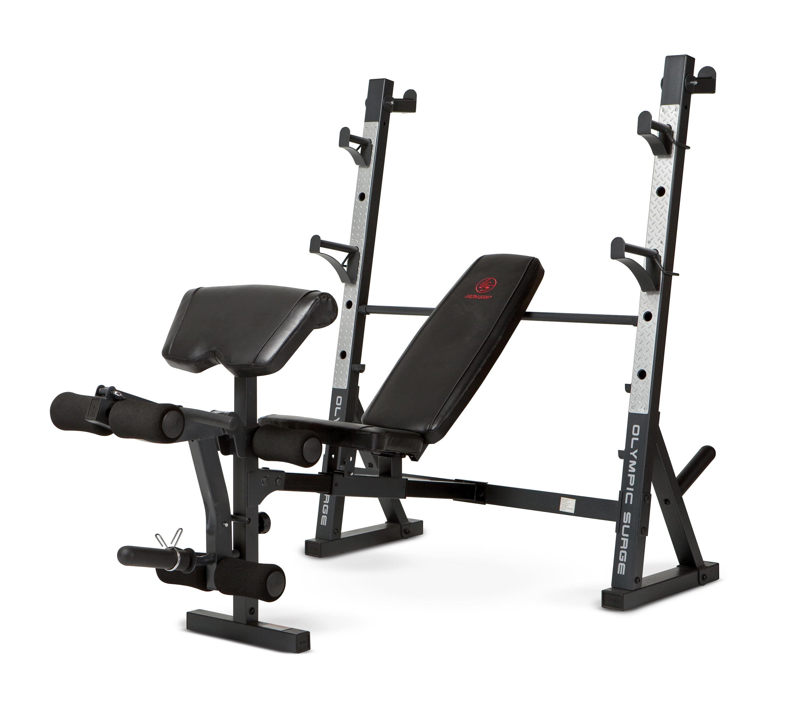 Marcy Diamond Md 857 Olympic Surge Bench Olympic Weight Benches Sports Outdoors