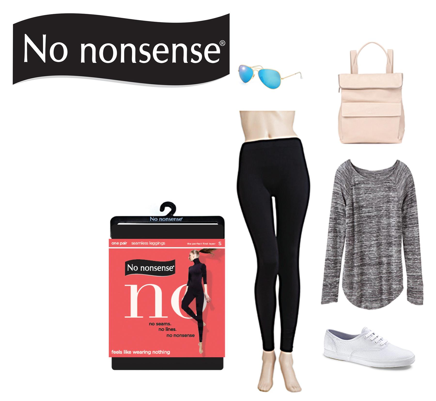 17c3047748d19 No Nonsense Women's No Seamless Legging at Amazon Women's Clothing ...