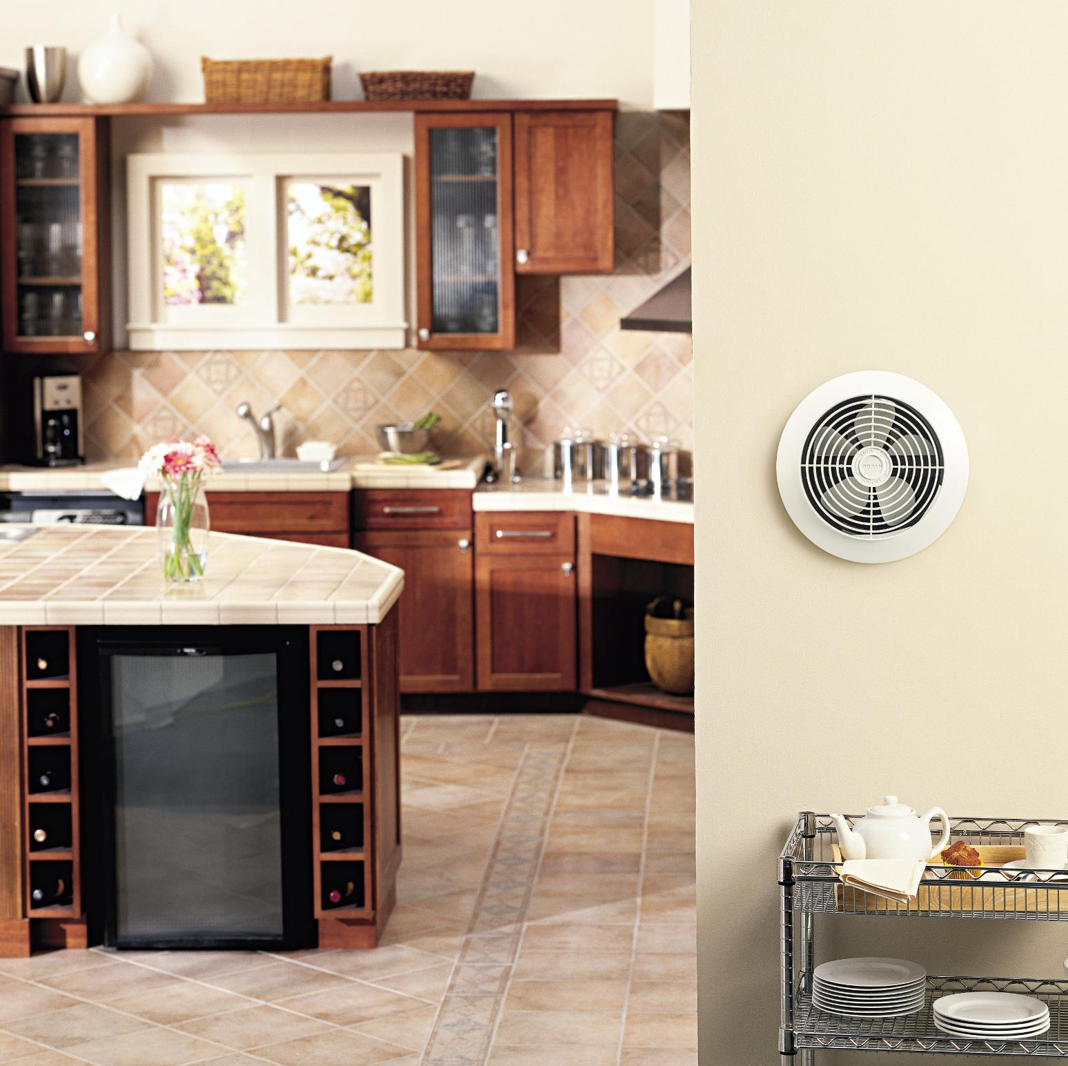 Room To Room Ventilation Fans : Broan room to wall utility fan inch cfm
