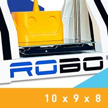 Robo D R Plus Print Bed Size