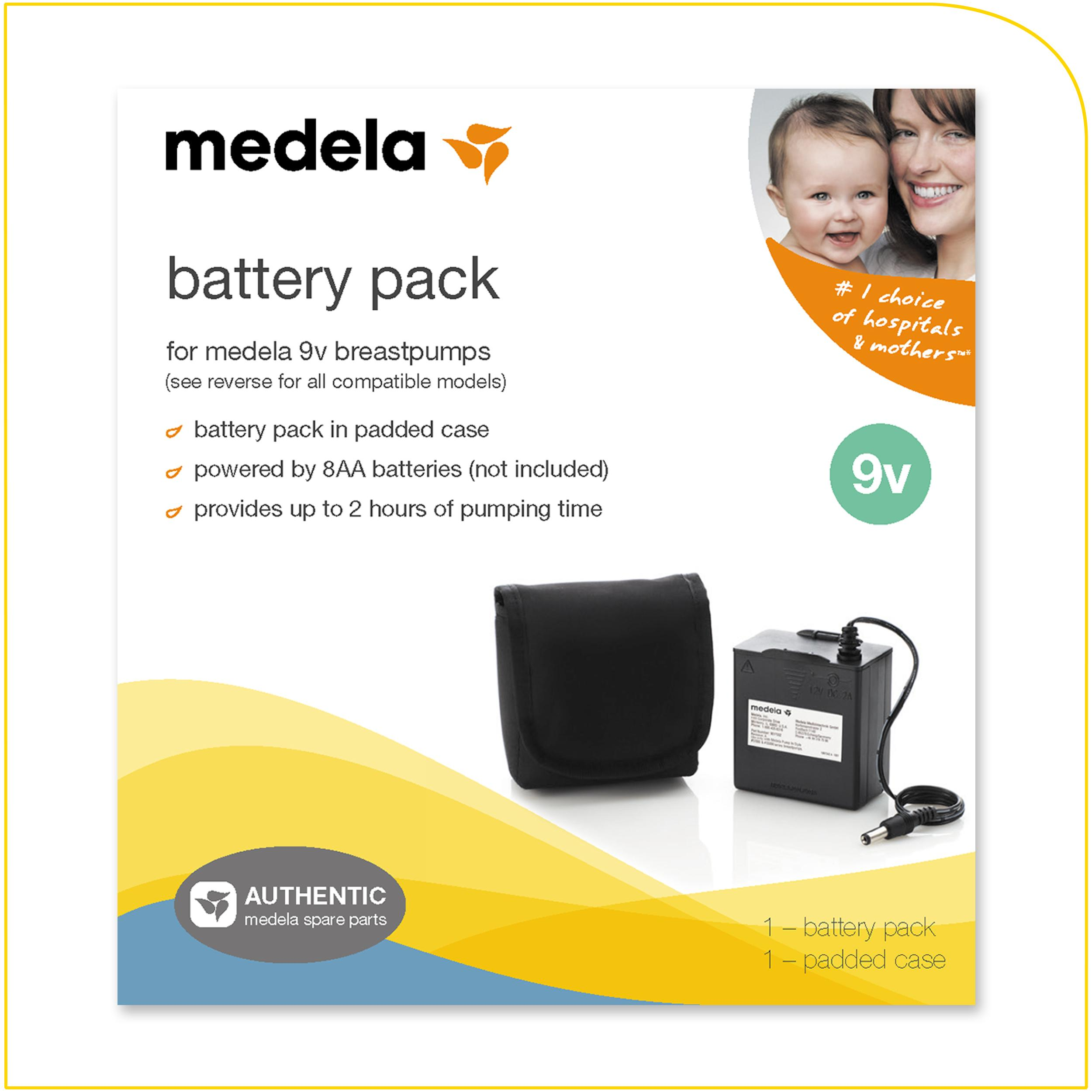 Amazoncom  Medela Pump In Style Battery Pack, Portable Unit For 9 Volt Pump In Style -9833