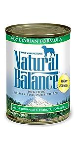 wet canned vegetarian dog food