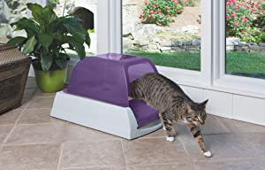 PetSafe ScoopFree Ultra Self-Cleaning Cat Litter Box, Review of PetSafe ScoopFree Ultra Self-Cleaning Cat Litter Box, Covered, Automatic with Disposable Tray, Purple