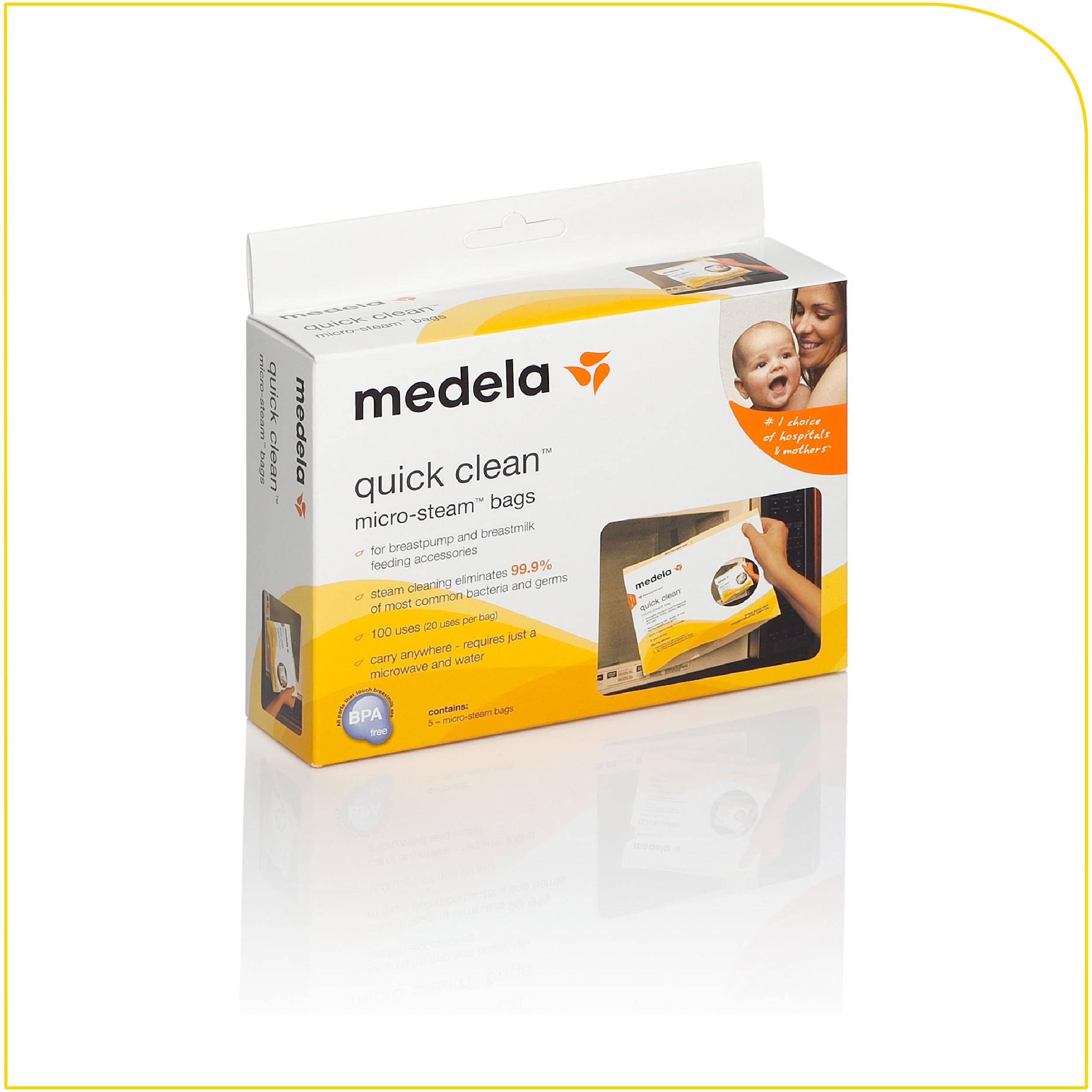 Amazoncom  Medela Quick Clean Breast Pump And Accessory -6478