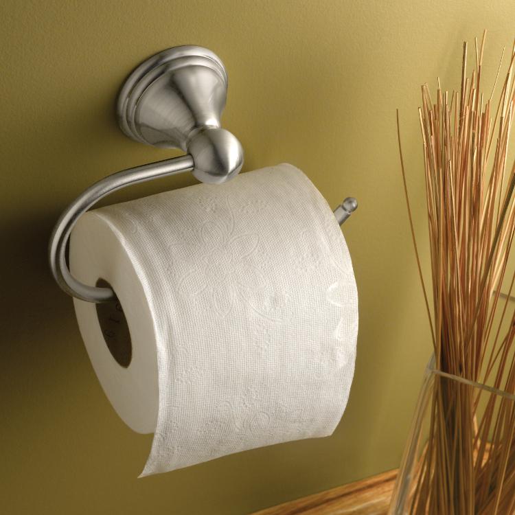 Moen DN8408BN Preston Toilet Paper Holder, Brushed Nickel - Toilet ...