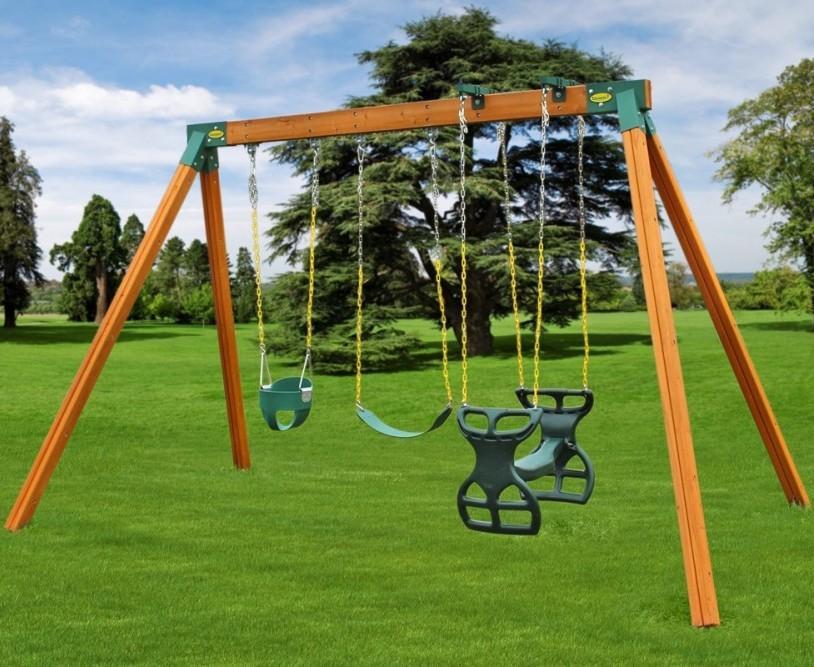 Easy 1 2 3 A Frame Swing Set Brackets Complete Set 2