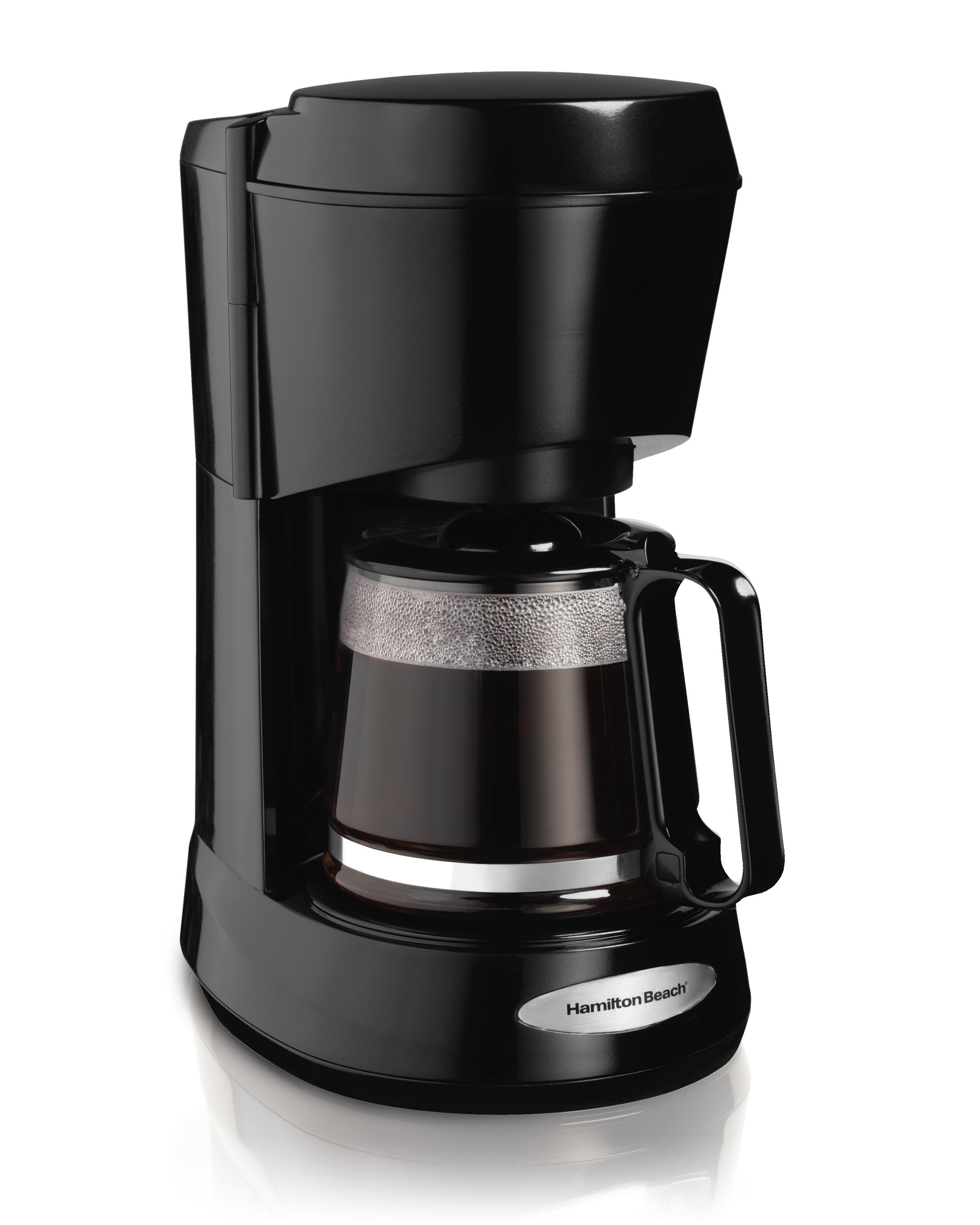 Coffee Maker K Cup And Pot Amazoncom Hamilton Beach Coffee Maker With Glass Carafe 5 Cup