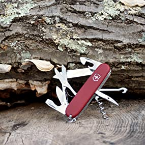 Amazon Com Victorinox Swiss Army Climber Ii Pocket Knife
