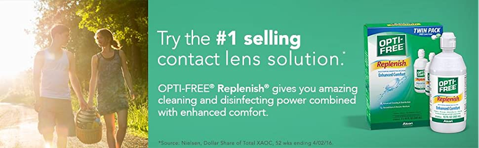 opti free replenish, alcon opti free, opti free contact solution, contact lens cleaner