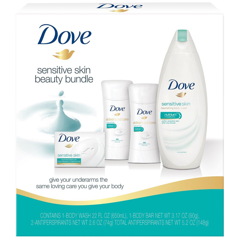 Amazon.com: Dove Beauty Bundle, Sensitive Skin: Beauty