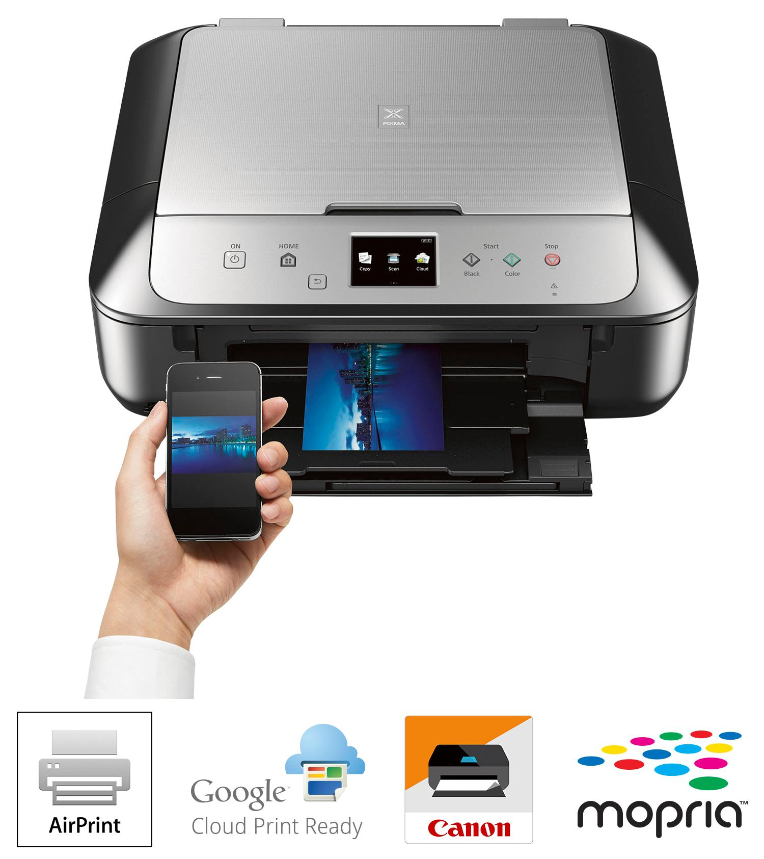 how to connect iphone to canon printer wirelessly