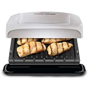 George foreman grp1060p 4 serving removable plate grill platinum kitchen dining - Buy george foreman grill ...