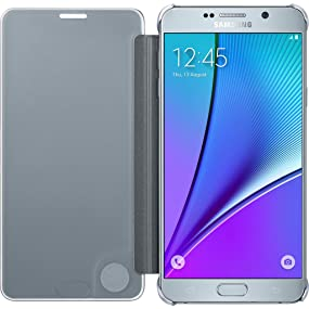 Samsung Galaxy Note5 S-View Flip Cover Clear