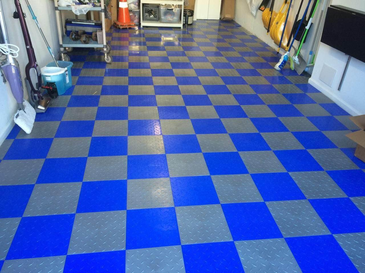 Amazon Speedway Garage Tile Interlocking Flooring 6