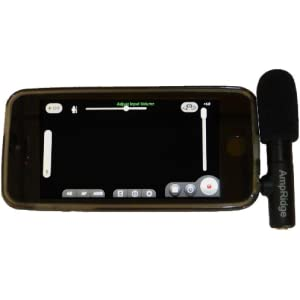 Ampridge MightyMic S iPhone Shotgun Condenser Video Microphone with Headphone Monitor 9
