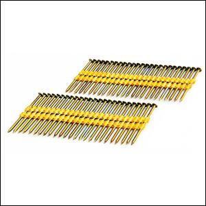 Framing Nails, Smooth Shank, Plastic Collated, 3 1/4 Inch, 21 Degree