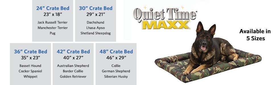 Amazon.com : Maxx Dog Bed for Metal Dog Crates : Pet Beds ...