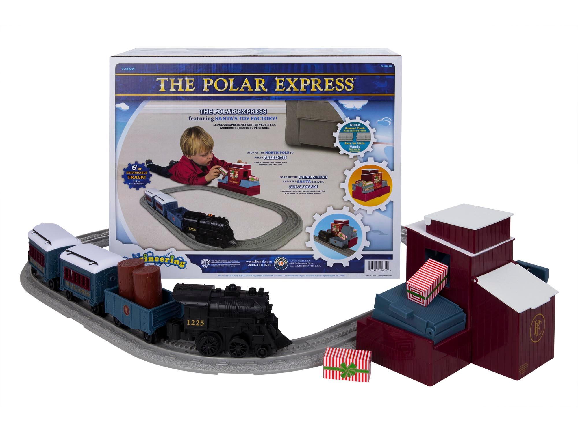 Amazon.com: Lionel Polar Express Imagineering Non Powered Play Set ...