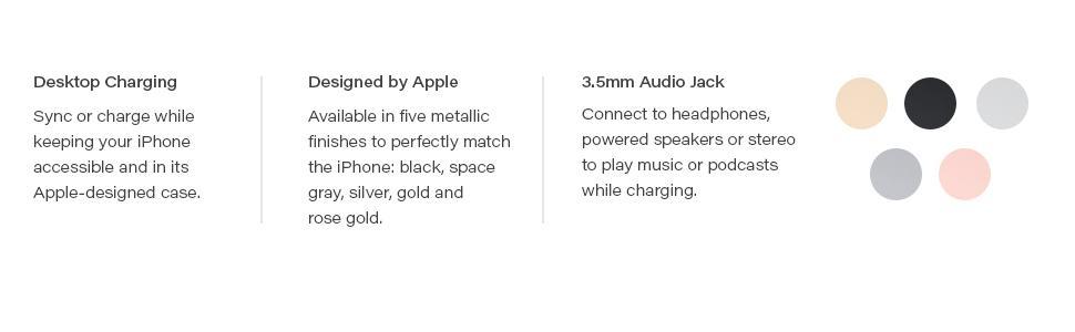 Apple Lightning iPhone Dock