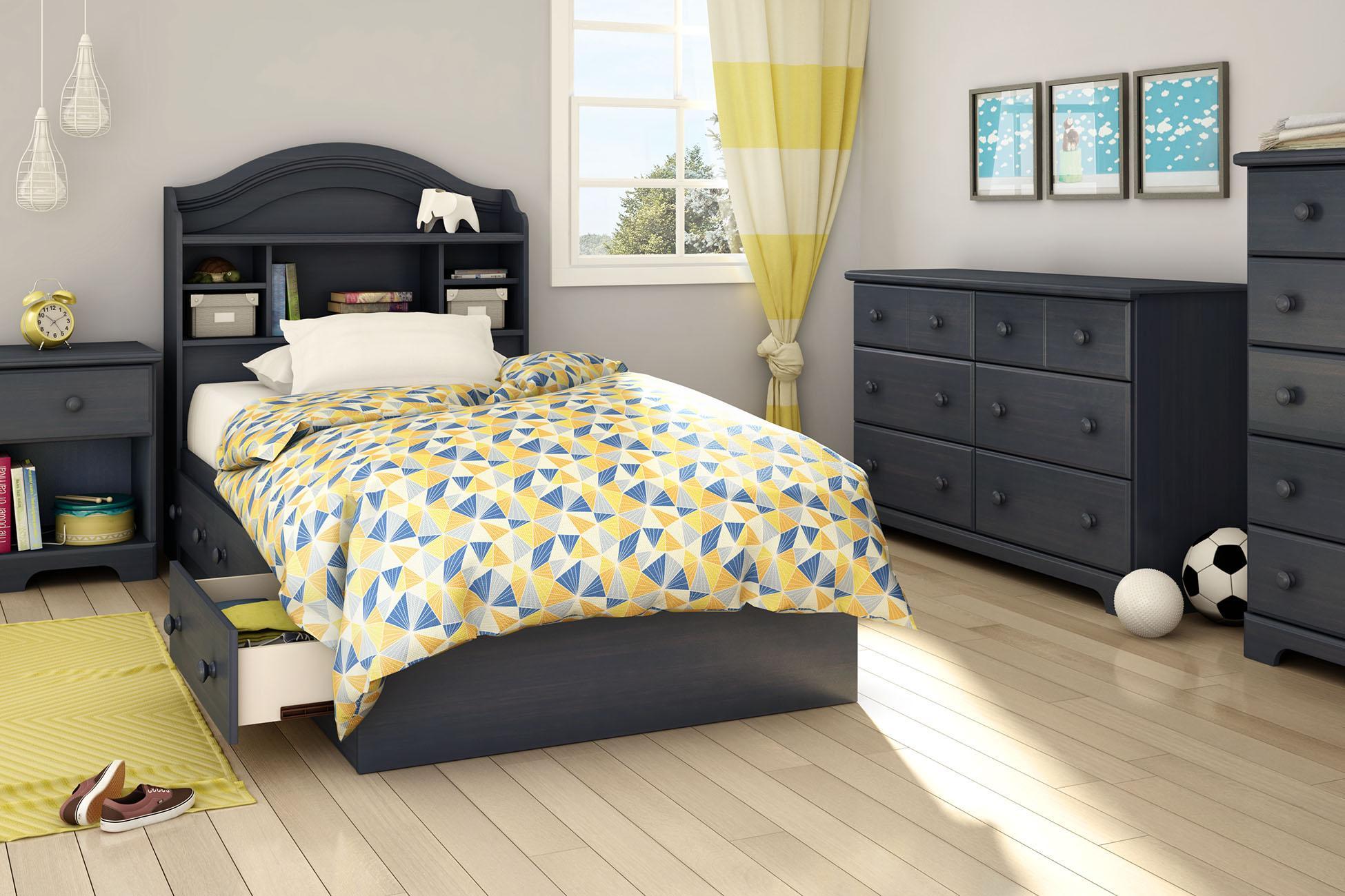 south shore furniture summer breeze collection 6 drawer dresser blueberry. Black Bedroom Furniture Sets. Home Design Ideas