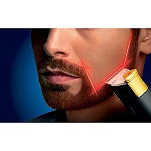 Awesome Amazon Com Philips Norelco Beardtrimmer 9100 With Laser Guide For Hairstyles For Men Maxibearus