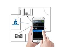 Bluetooth power on, soundbar, Samsung Audio Remote App, smartphone home theater remote