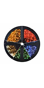 LED Light Strip 3528 300 Warm Cool White Red Green Blue