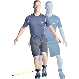 agility trainer resistance band lower body workout
