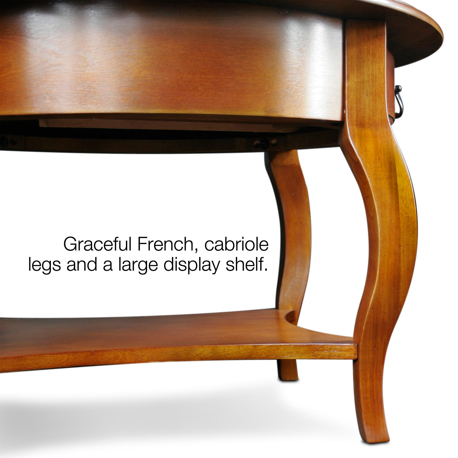Amazon.com: Leick French Countryside Round Storage Coffee