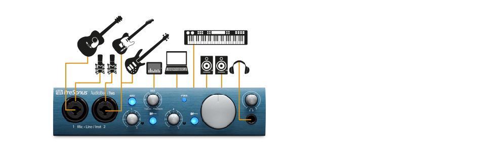 audiobox itwo 2x2 usb ipad recording system presonus musical instruments. Black Bedroom Furniture Sets. Home Design Ideas