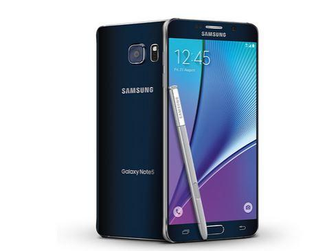 amazon com samsung galaxy note 5 n920a black 32gb at t cell